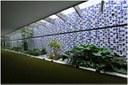 Ano: 1971. Painel de azulejos. Salão Verde, Jardim Interno, Câmara dos Deputados. Brasília – DF. Dimensões 768 x 7980 cm.  (Foto: Acervo Fotográfico da Câmara dos Deputados)