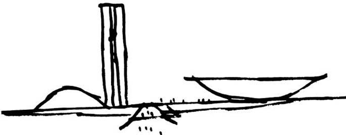 Croqui - Oscar Niemeyer